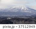岩手県盛岡市 冬の岩手山と盛岡市街 37512949