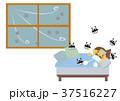 風邪 インフルエンザ 病気のイラスト 37516227
