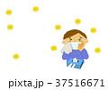 花粉症 花粉 アレルギーのイラスト 37516671