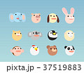 動物 キャラクター 顔のイラスト 37519883