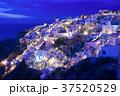 サントリーニ島 夜景 イア  37520529