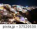 サントリーニ島 夜景 イア  37520530
