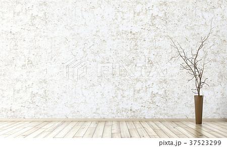 Interior of empty room background 3d render 37523299
