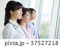 女医 横顔 看護師の写真 37527218