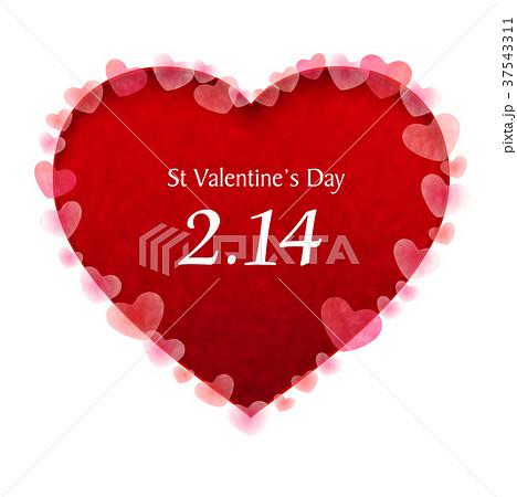 バレンタイン ハート かわいい アイコン  37543311
