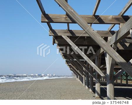 稲毛海岸のパーゴラ 37546748