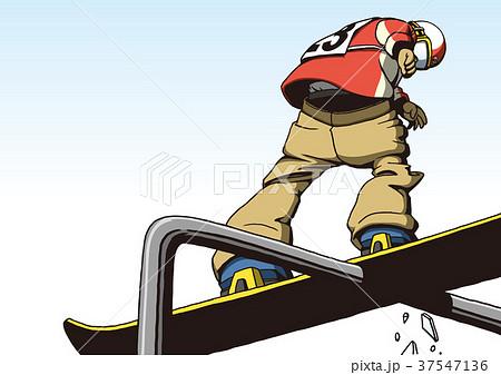 スノーボード スロープスタイル 37547136