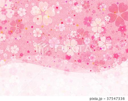 背景素材 桜 テクスチャー 37547336