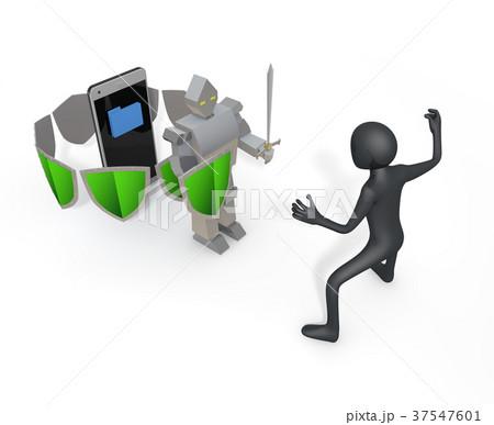 スマーホフォン/データ/セキュリティ/ウィルス 37547601