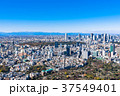 新宿副都心と原宿・青山周辺の町並み 37549401