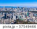 新宿副都心と原宿・青山周辺の町並み 37549466