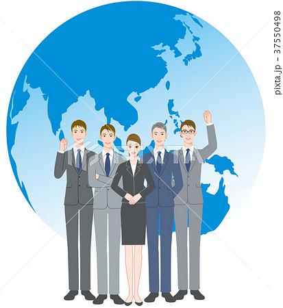ビジネスマン チーム 地球 37550498