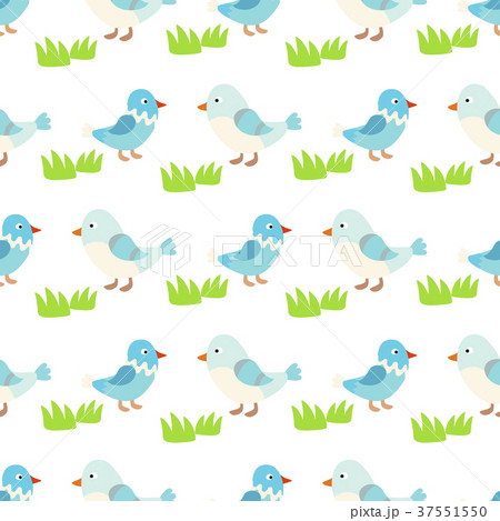 Two lovely birds couple vector fall in love fly 37551550