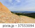 鬼ノ城 西門跡 城壁から見る総社市内 岡山県総社市 37553094