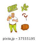 ビール 樽 バレルのイラスト 37555195