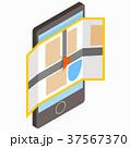 フォン 電話 イコンのイラスト 37567370