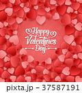 バレンタイン ハート ハートマークのイラスト 37587191