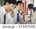 ビジネスマン 営業電話 37587508