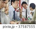 ビジネスマン 営業電話 37587555