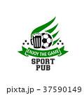 サッカー スポーツ ゲームのイラスト 37590149