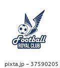 サッカー クラブ 羽のイラスト 37590205