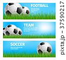 サッカー ボール 球のイラスト 37590217