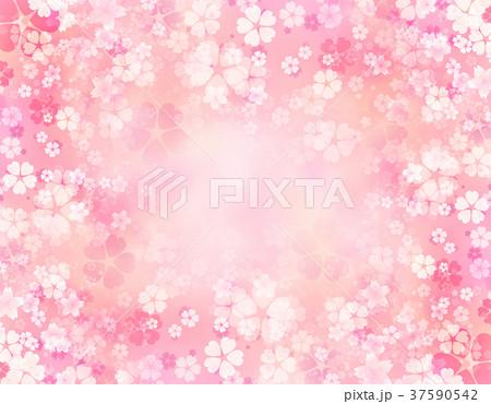 背景素材 桜 テクスチャー 37590542