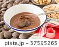 チョコレート チョコ お菓子づくりの写真 37595265