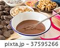 チョコレート チョコ お菓子づくりの写真 37595266