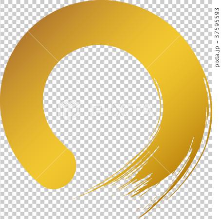 圓圈 圓的 日元 37595593