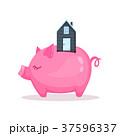住宅 ぶた ブタのイラスト 37596337