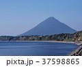 開聞岳と錦江湾 鹿児島旅行 シンボルの山 37598865
