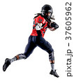 american football player man isolated 37605962