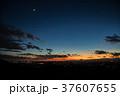 筑波山 媼ヶ峰駐車場からの夕焼け 37607655
