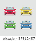 自動車 車 赤色のイラスト 37612457