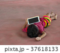 Children Playing Smartphone Tablet 37618133