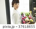 人物 女性 野菜の写真 37618655