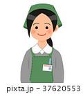 スーパーの女性店員 37620553