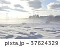 雪景色 積雪 銀世界の写真 37624329