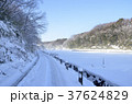 雪景色 積雪 銀世界の写真 37624829