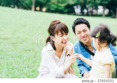 家族 公園 お出かけ 37634331