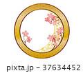 桜 フレーム 背景のイラスト 37634452