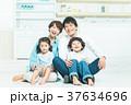 人物 家族 親子の写真 37634696
