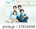 人物 家族 親子の写真 37634698