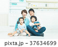 人物 家族 親子の写真 37634699