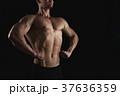 筋肉 ボディービルダー 男性の写真 37636359