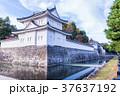 日本の風景 京都 秋の二条城 東南隅櫓 37637192