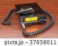 ラジオ 無線機 送受信のイラスト 37638011