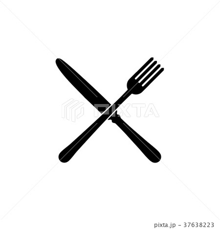 Fork and knife restaurant Icon. 37638223