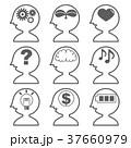アイコン 人工知能 AIのイラスト 37660979